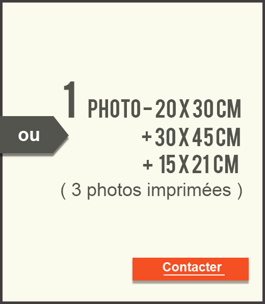 Ou 3 photos imprimées