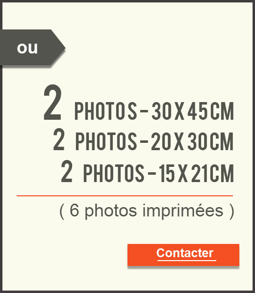 Ou 6 photos imprimées